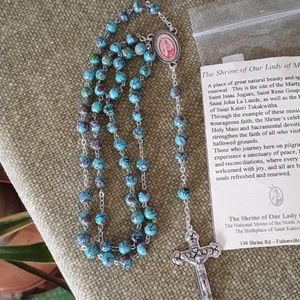 Rosary from  The Shrine of Our Lady of Martyrs